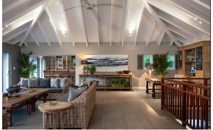 BEACH HOUSE by JSD Interiors Eclectic Tiles