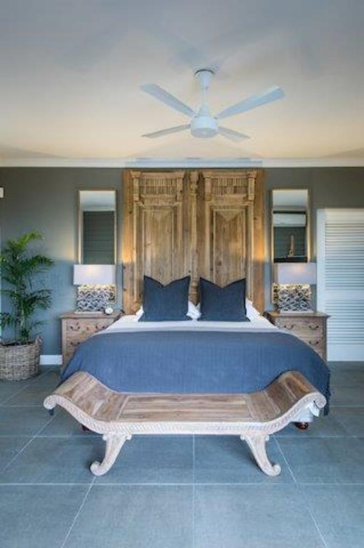 BEACH HOUSE Eclectic style bedroom by JSD Interiors Eclectic Concrete