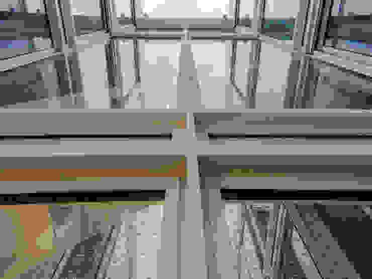 RUX Fenêtres & Portes minimalistes par Brengues Le Pavec architectes Minimaliste