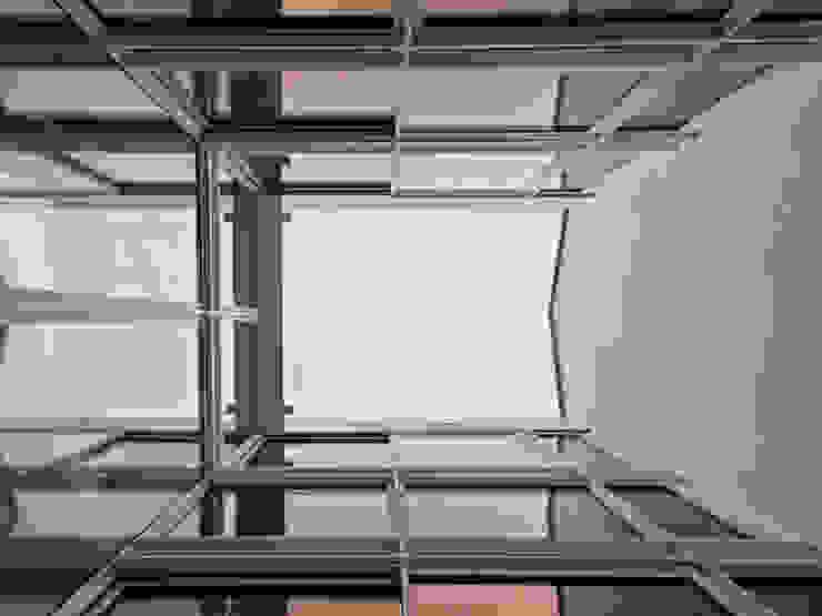 RUX Jardin minimaliste par Brengues Le Pavec architectes Minimaliste