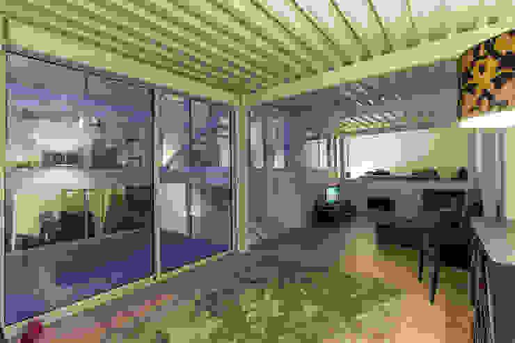 RUX Salon minimaliste par Brengues Le Pavec architectes Minimaliste