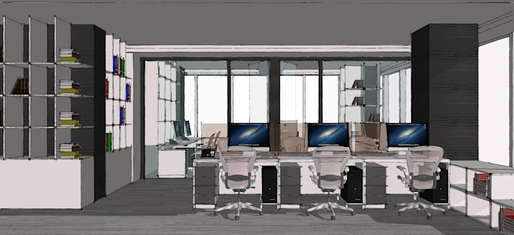 Interiors for Office, Noida by mold design studio
