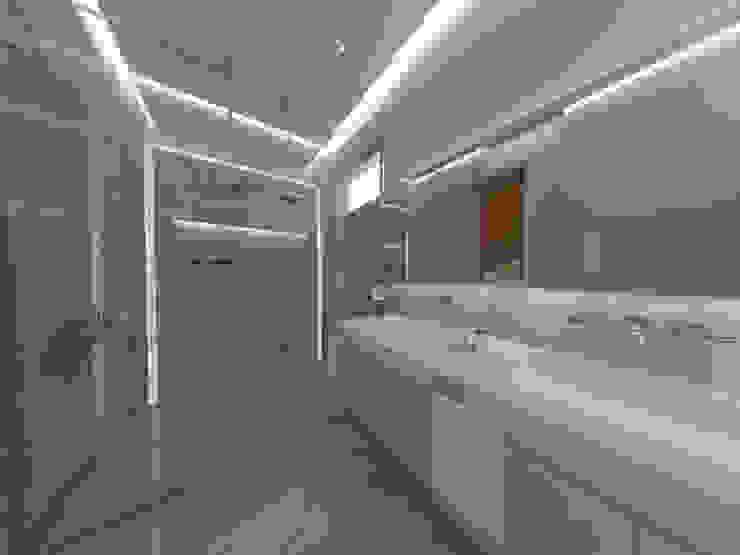 Baño principal Baños de estilo industrial de homify Industrial
