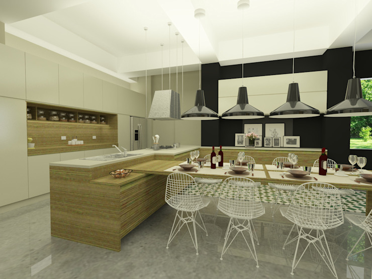 homify Dapur built in