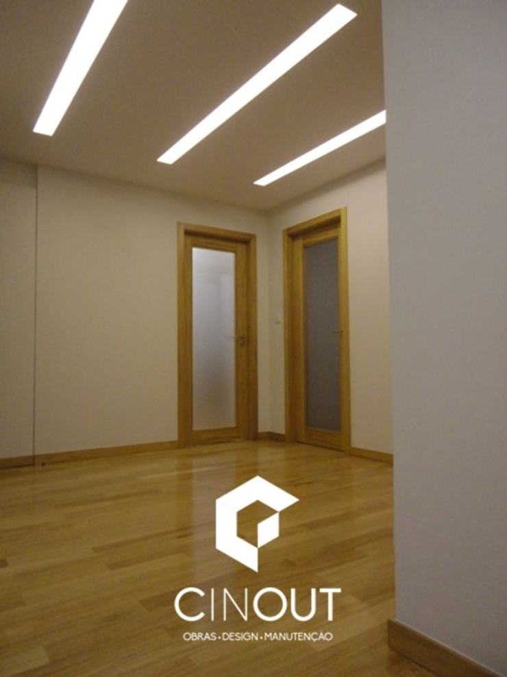 de CINOUT - Obras, Design e Manutenção Lda.