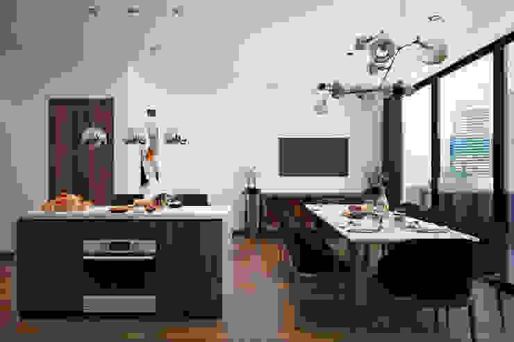 Thiết kế nội thất nhà 7 tầng – Anh Dũng bởi NỘI THẤT - 86STUDIO