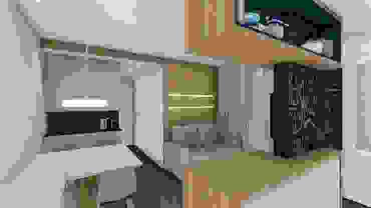 Sala de Estar/Jantar Salas de estar modernas por TR Interiores Moderno