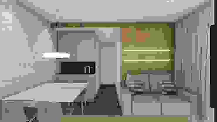 CARANDIRU II Salas de jantar modernas por TR Interiores Moderno