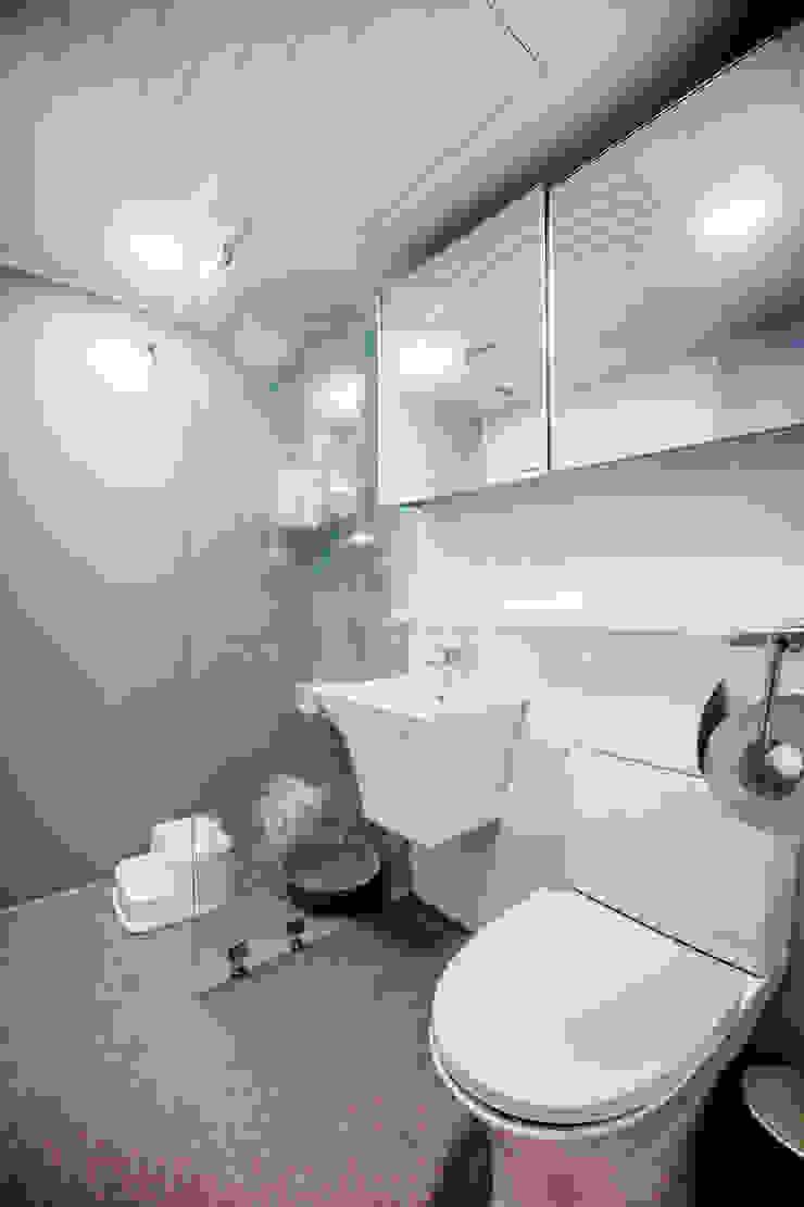 장위동 참누리아파트 리모델링 모던스타일 욕실 by LNID 모던