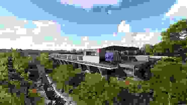 Casa de campo en Agua Blanca, Hidalgo. Arquitecto Rafael Balbi