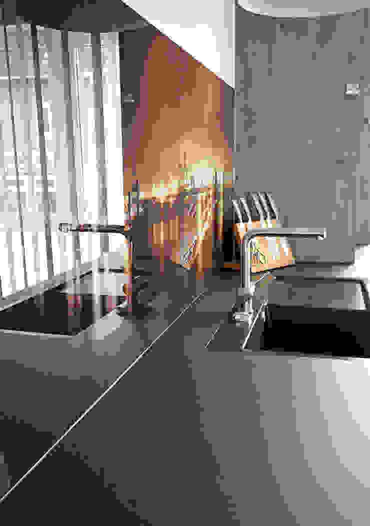 Glascouture by Schenk Glasdesign KitchenBench tops Kaca Grey