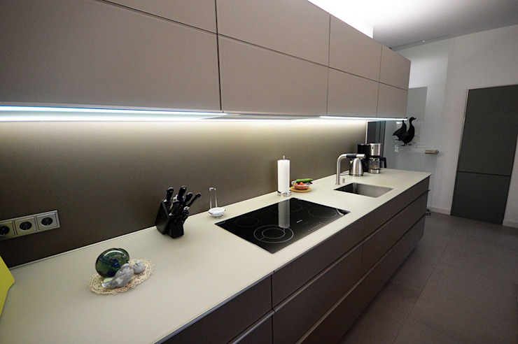 Glascouture by Schenk Glasdesign Cucinino Vetro Beige