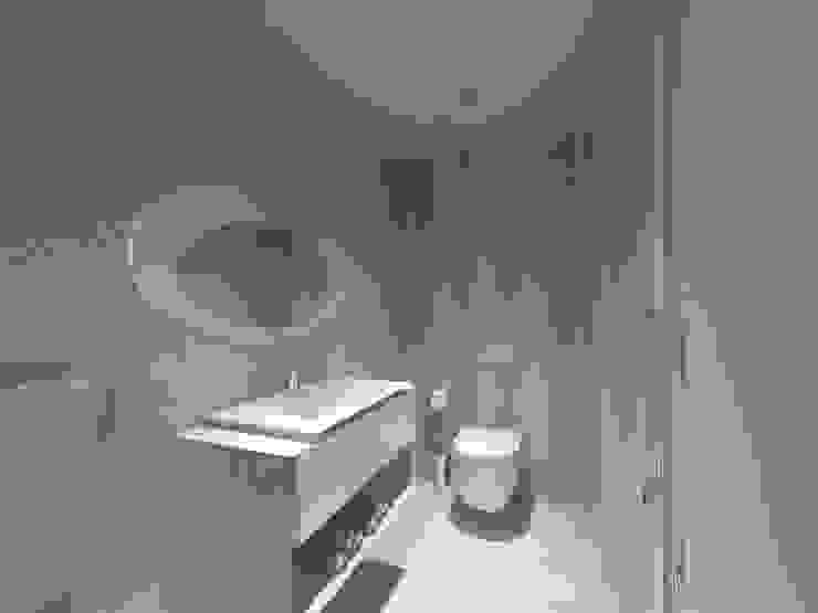 I.S. Social Casas de banho minimalistas por Enzo Rossi, Home Design Minimalista