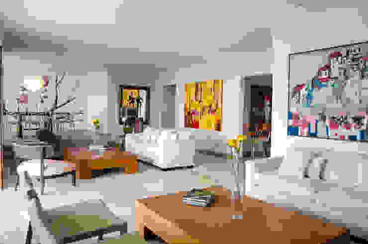 Apartamento Aristizabal - Alviar / Parte 1 Salas de estilo ecléctico de Tejero & Ángel Diseño de Interiores Ecléctico