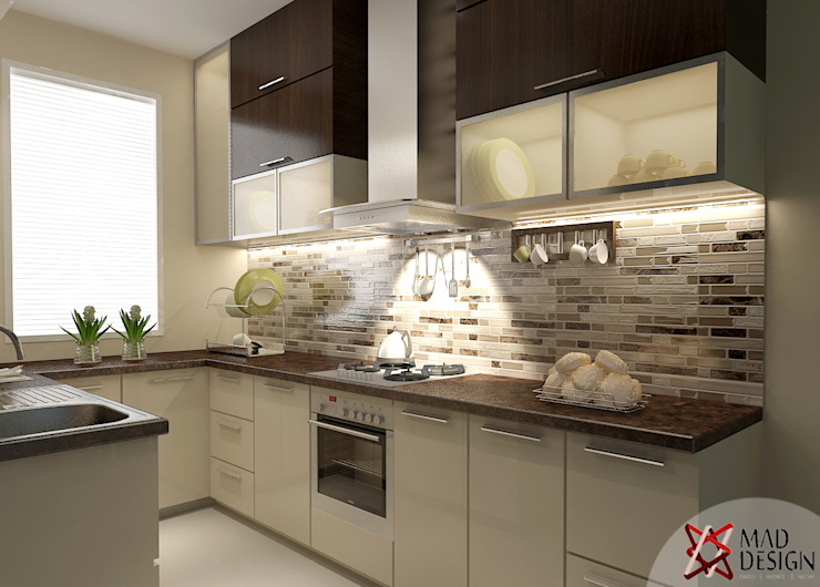KITCHEN VIEW Modern kitchen by homify Modern