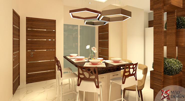 DINING VIEW Modern dining room by homify Modern