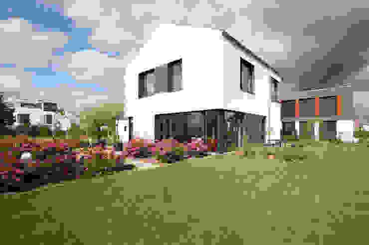 Blick vom Garten ARCHITEKTEN BRÜNING REIN Passivhaus