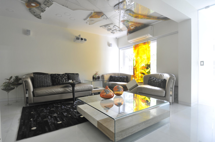 Juhu Site Eclectic style living room by Mybeautifulife Eclectic