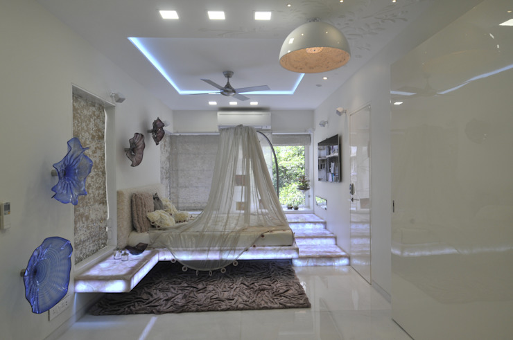 Juhu Site Eclectic style bedroom by Mybeautifulife Eclectic