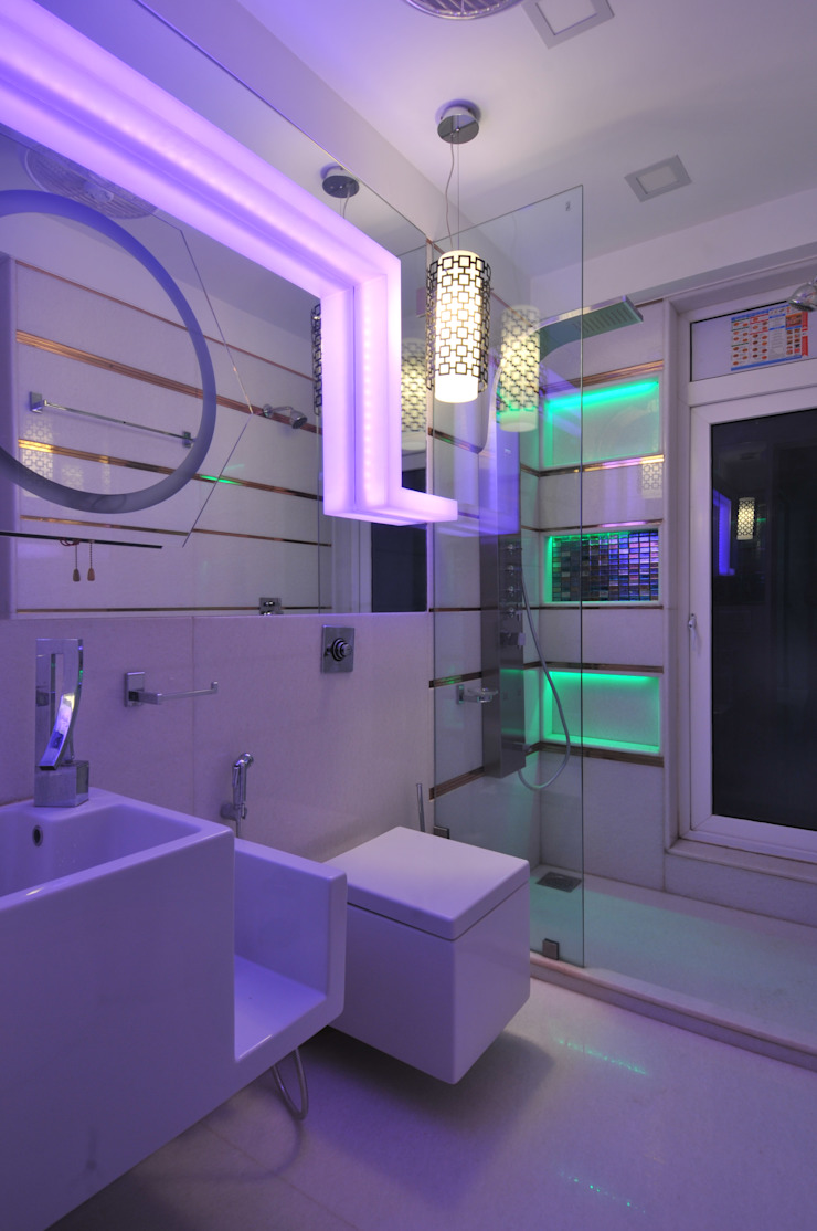 Site at Vile Parle Classic style bathroom by Mybeautifulife Classic