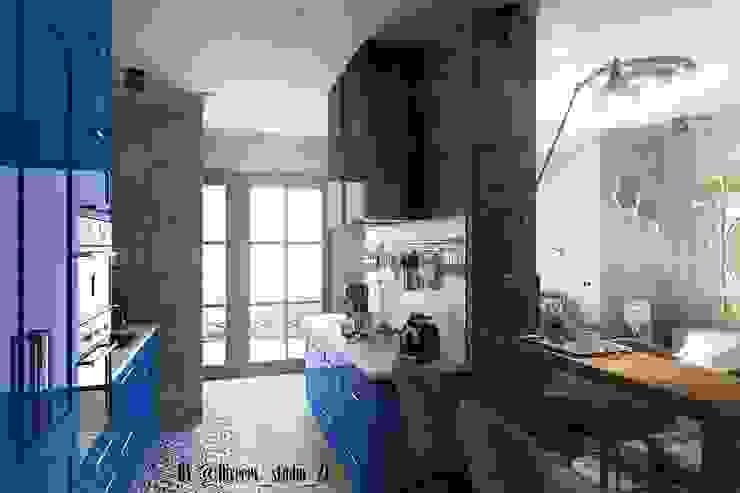 Industrialna kuchnia od Diveev_studio#ZI Industrialny
