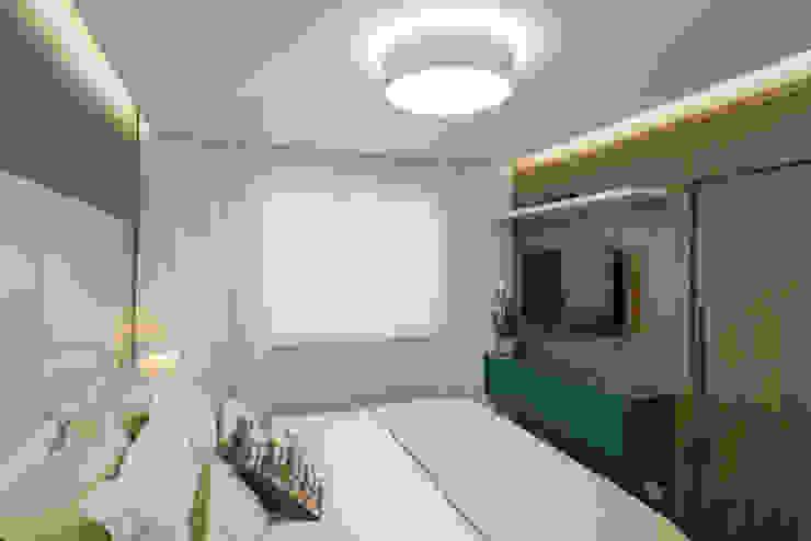 Classic style bedroom by Fernanda Miranda Arquitetura Classic Wood Wood effect
