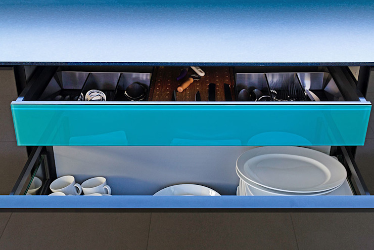 Glascouture by Schenk Glasdesign KitchenCutlery, crockery & glassware Kaca Turquoise