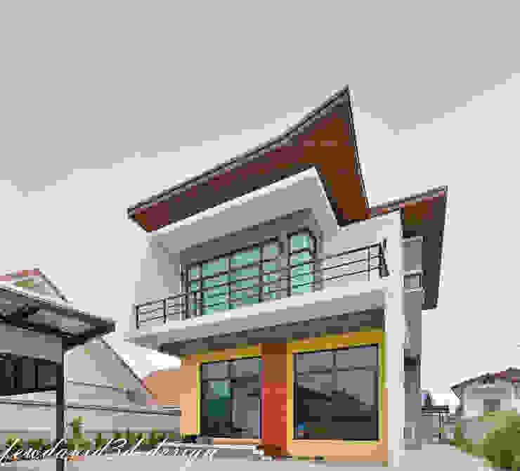 บ้านพักอาศัย2ชั้น อ.เมืองพิษณุโลก จ.พิษณุโลก/คุณชัยวัฒน์ พวงทอง โดย fewdavid3d-design