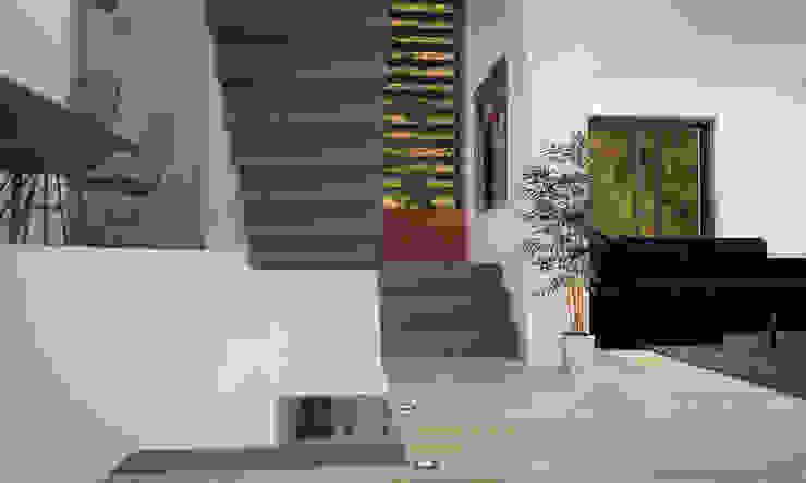 Corredores, halls e escadas modernos por LAB16 architettura&design Moderno