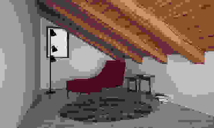 VILLA PIOSSASCO Studio moderno di LAB16 architettura&design Moderno