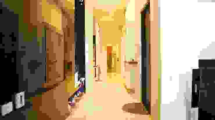07 現代風玄關、走廊與階梯 根據 欣成室內裝修設計股份有限公司 現代風