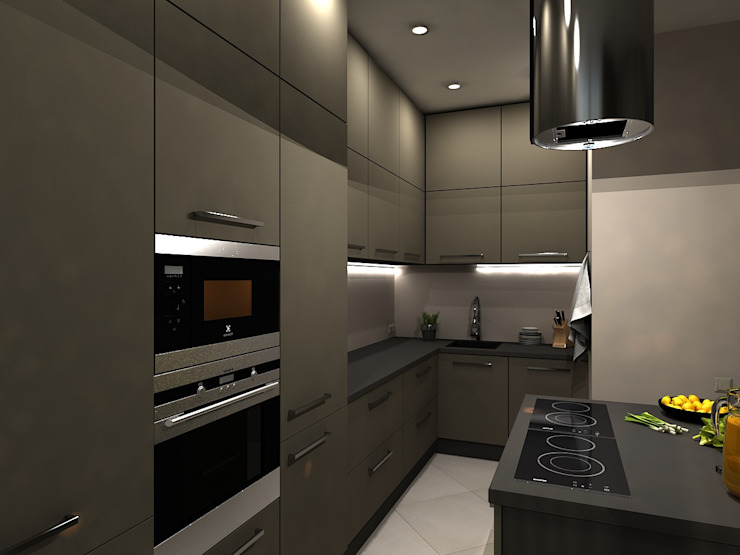 Ausgefallene Küchen von AM Design Ausgefallen