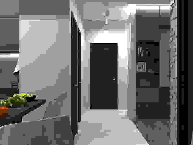 Minimalistischer Flur, Diele & Treppenhaus von AM Design Minimalistisch
