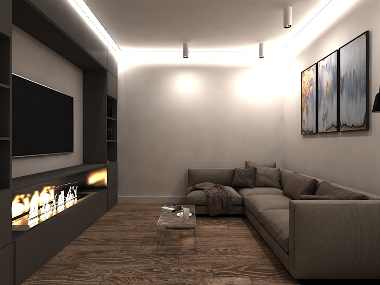 Minimalistische Wohnzimmer von AM Design Minimalistisch