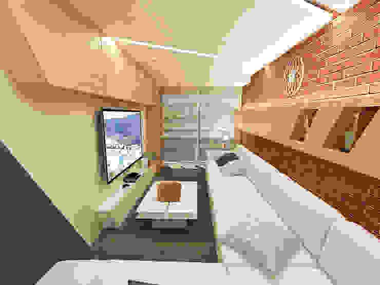 Moderne Wohnzimmer von Quattro designs Modern