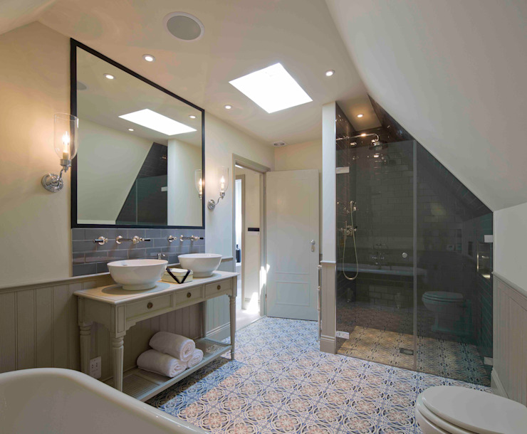 Hampstead, London - Residential Classic style bathroom by Peach Studio Classic