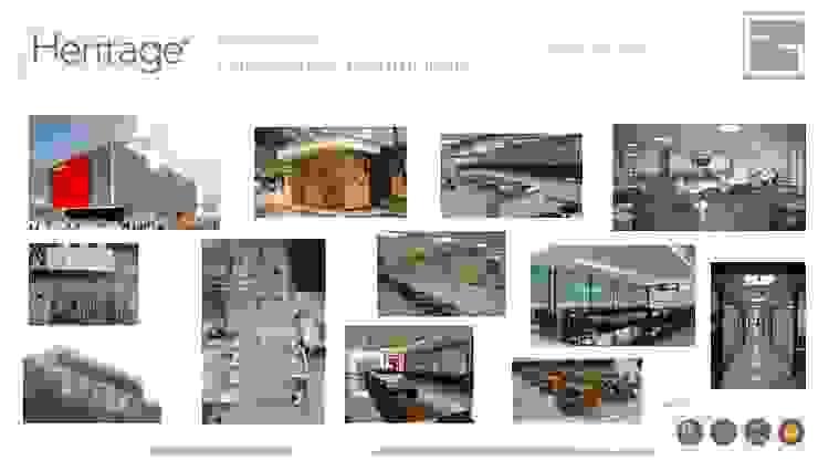 Portafolio Servicios Estudios y despachos de estilo minimalista de Heritage Design Group Minimalista