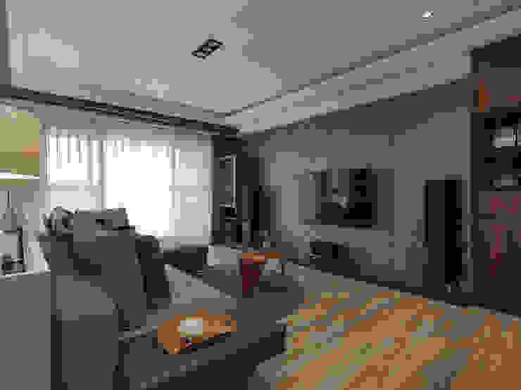 Salas de estilo  por 存果空間設計有限公司, Industrial