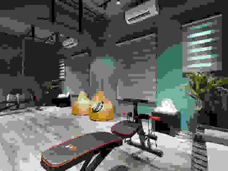 健身房 根據 存果空間設計有限公司 工業風