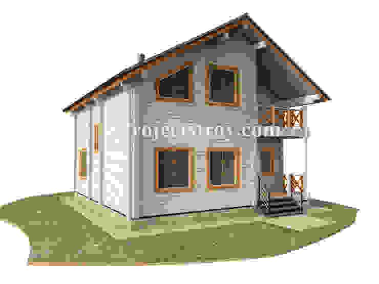 проект деревянного дома из бруса: Деревянные дома в . Автор – Projectstroy,