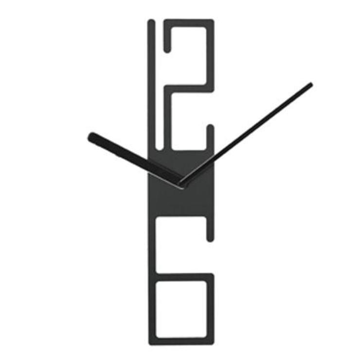 Karlsson 12/6 Wall Clock: modern  by Just For Clocks,Modern Metal