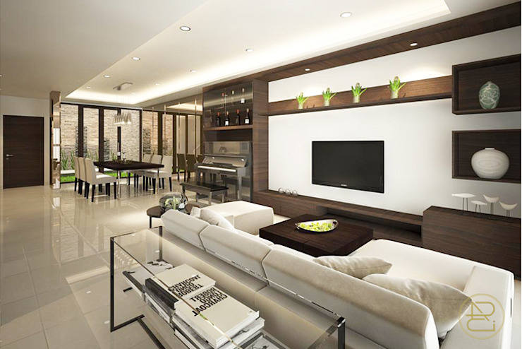 SL House Ruang Keluarga Modern Oleh Arci Design Studio Modern