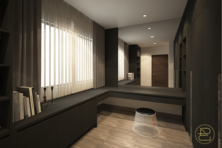 SL House Ruang Studi/Kantor Modern Oleh Arci Design Studio Modern