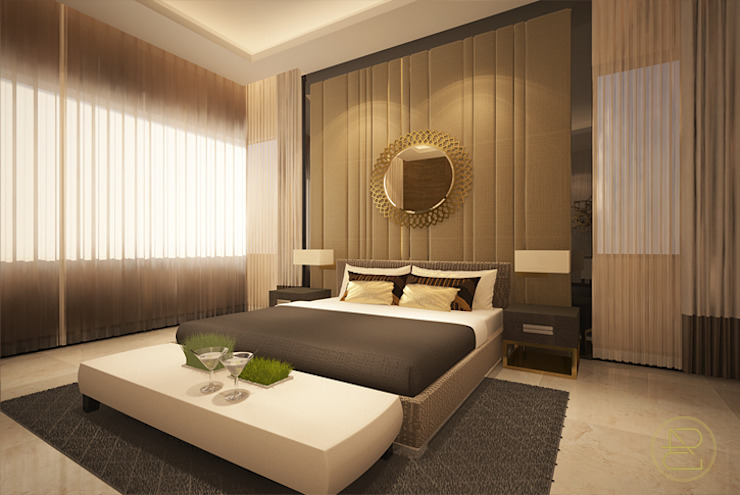 Teratai House Kamar Tidur Modern Oleh Arci Design Studio Modern