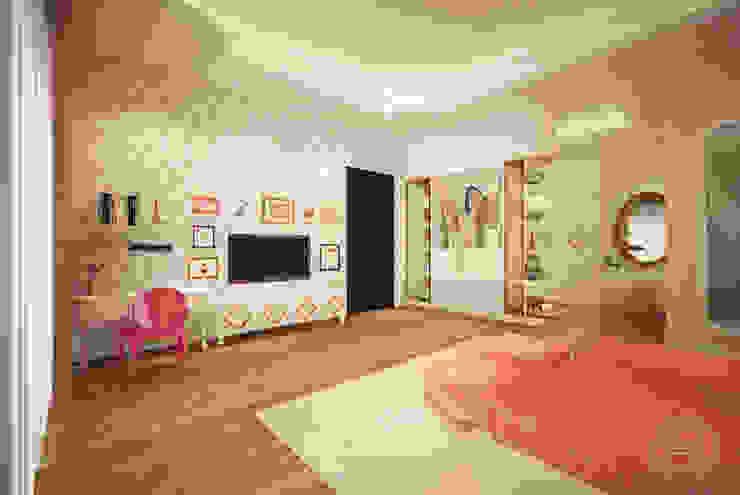 Teratai House: Kamar Tidur oleh Arci Design Studio,