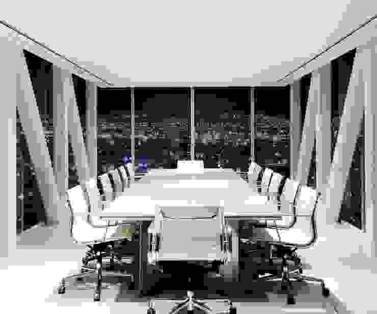 OFICINA - Heliport - Business Suite 2 de BODIN BODIN ARQUITECTOS Moderno
