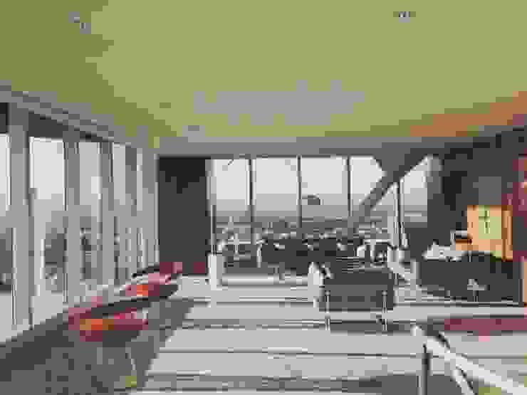 OFICINA – Heliport – Business Suite 2 de BODIN BODIN ARQUITECTOS Moderno