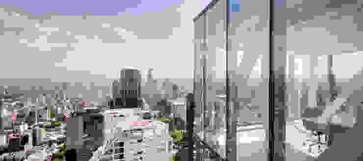OFICINA – Heliport – Business Suite 2 Edificios de oficinas de estilo moderno de BODIN BODIN ARQUITECTOS Moderno