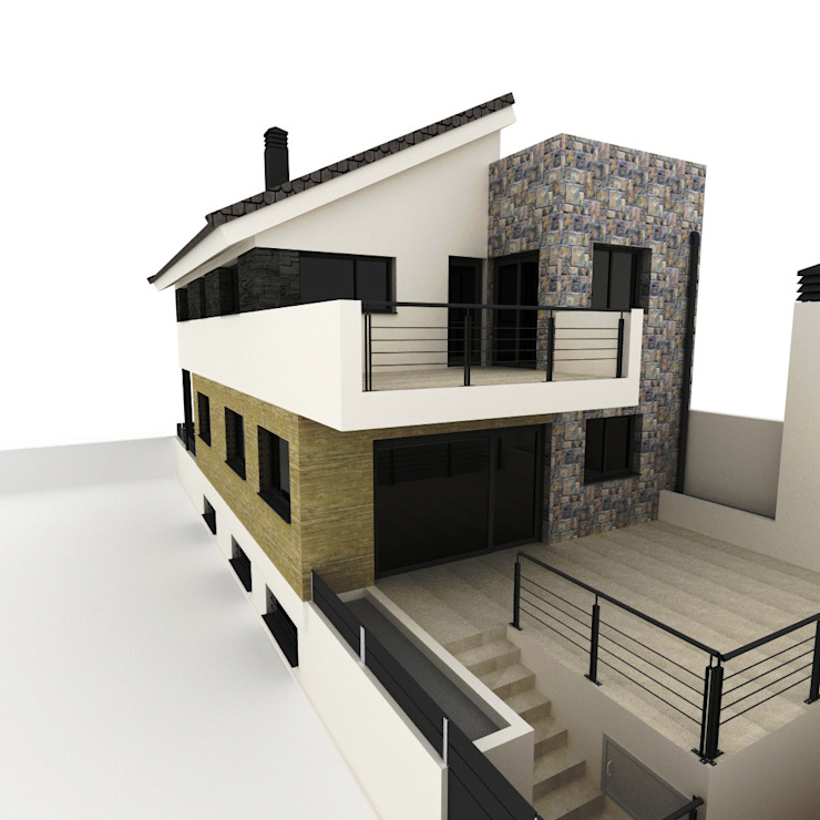 OFICINAS Terrazas Oficinas y bibliotecas de estilo moderno de Dakota Austral Moderno
