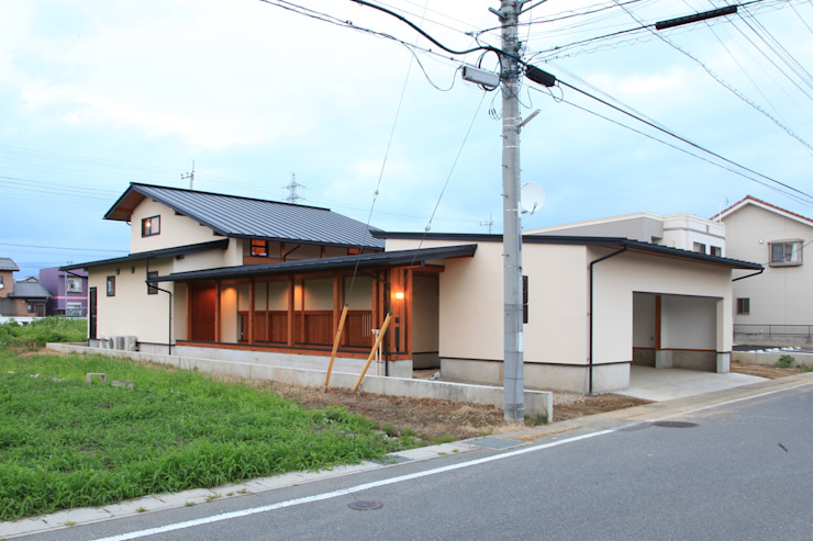 Rumah Gaya Asia Oleh 田村建築設計工房 Asia